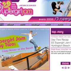 Supergirl Jam 2008 Results