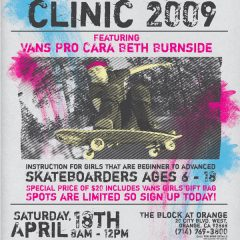 Girls Skate Clinic 2009