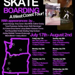 Skate Like a Girl West Coast Tour