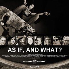 """As If, And What?"" Out Now!"