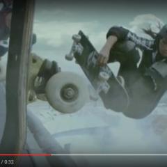 Allysha In Skate 3 Commercial