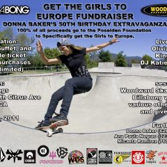 Get The Girls To Europe Fundraiser