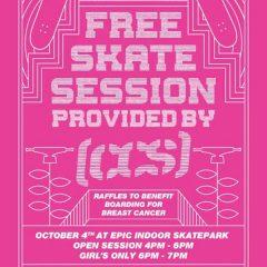 B4BC Fundraiser & Free Skate Session