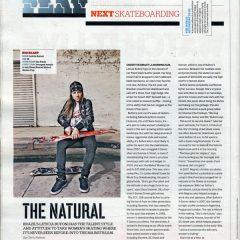 Leticia Bufoni In ESPN Magazine