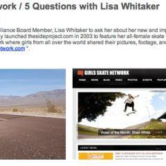 The Alliance | 5 Questions With Lisa Whitaker