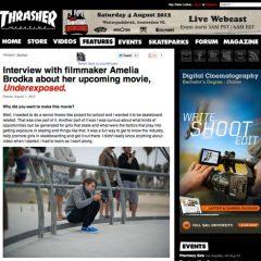 Amelia Brodka Thrasher Interview