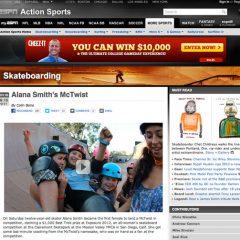 ESPN | Alana Smith's McTwist