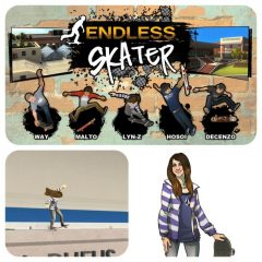 Lyn-Z In Endless Skater