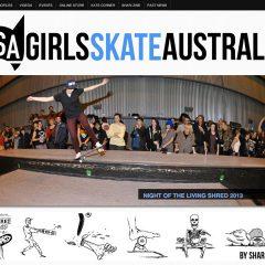 New Girls Skate Australia Site Up
