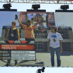 X Games LA Women's Street Results 2013