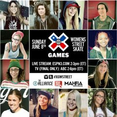 X Games Women's Street Airing On ABC