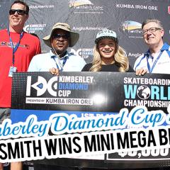 Alana Smith Wins Mini Mega Best Trick