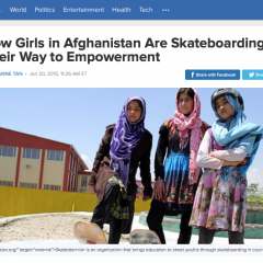 ABC | How Girls in Afghanistan Are Skateboarding Their Way to Empowerment