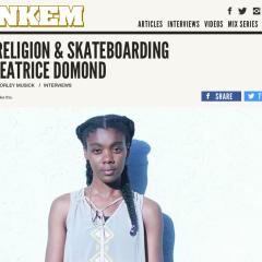 Jenkem   Race, Religon & Skateboarding with Beatrice Domond