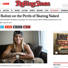 Rolling Stone   Leticia Bufoni on the Perils of Skating Naked