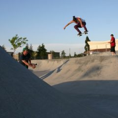 Blog Cam #18 – Girls Summer Gathering Ripon Skatepark 2009