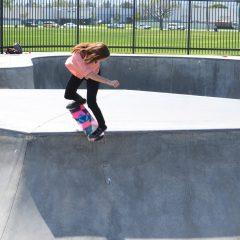 Blog Cam #52 – Skateboard Barbie and Teresa at Chino Skatepark