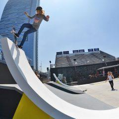 Blog Cam #61 – X Games Girls Skate Street Practice Day 1