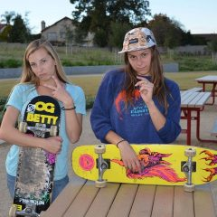 Blog Cam #71 – Skateboard Barbie & Teresa Part 2