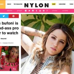 NYLON | Leticia Bufoni It Girl Resume