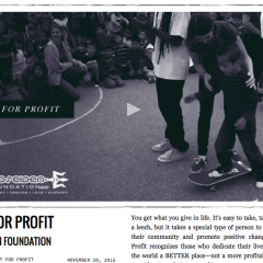 The Berrics | Not For Profit: Poseiden Foundation