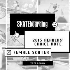 Transworld   2015 Readers' Choice Female Skater