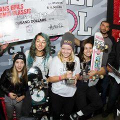 Vans Girls Combi Pool Classic Results 2016