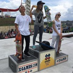 X Games Austin Women's Street Results 2016