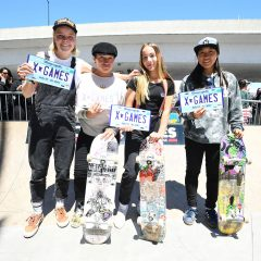 X Games Women's Park Qualifier Results 2017