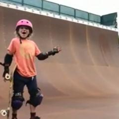 Sabre Norris | 9 Year Old Girl Lands 540!
